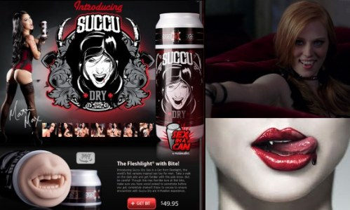 vampire sex fleshlight