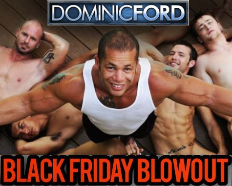 Dominic Ford Gay XXX Black Friday Special
