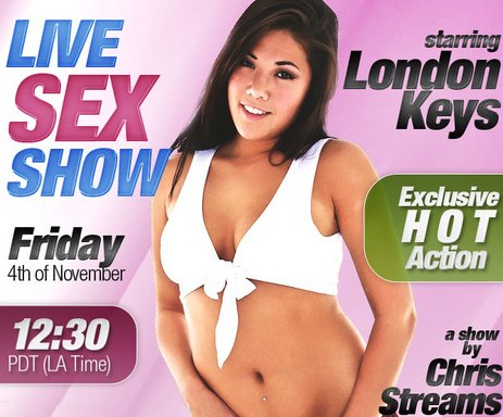 London Keys LIVE Anal Sex Show