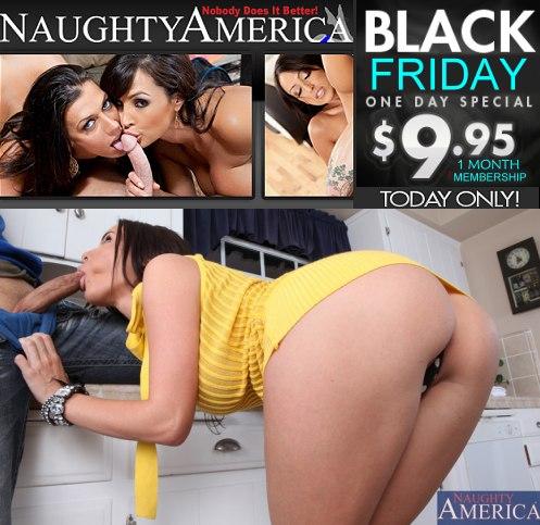 Naughty America Black Friday Event
